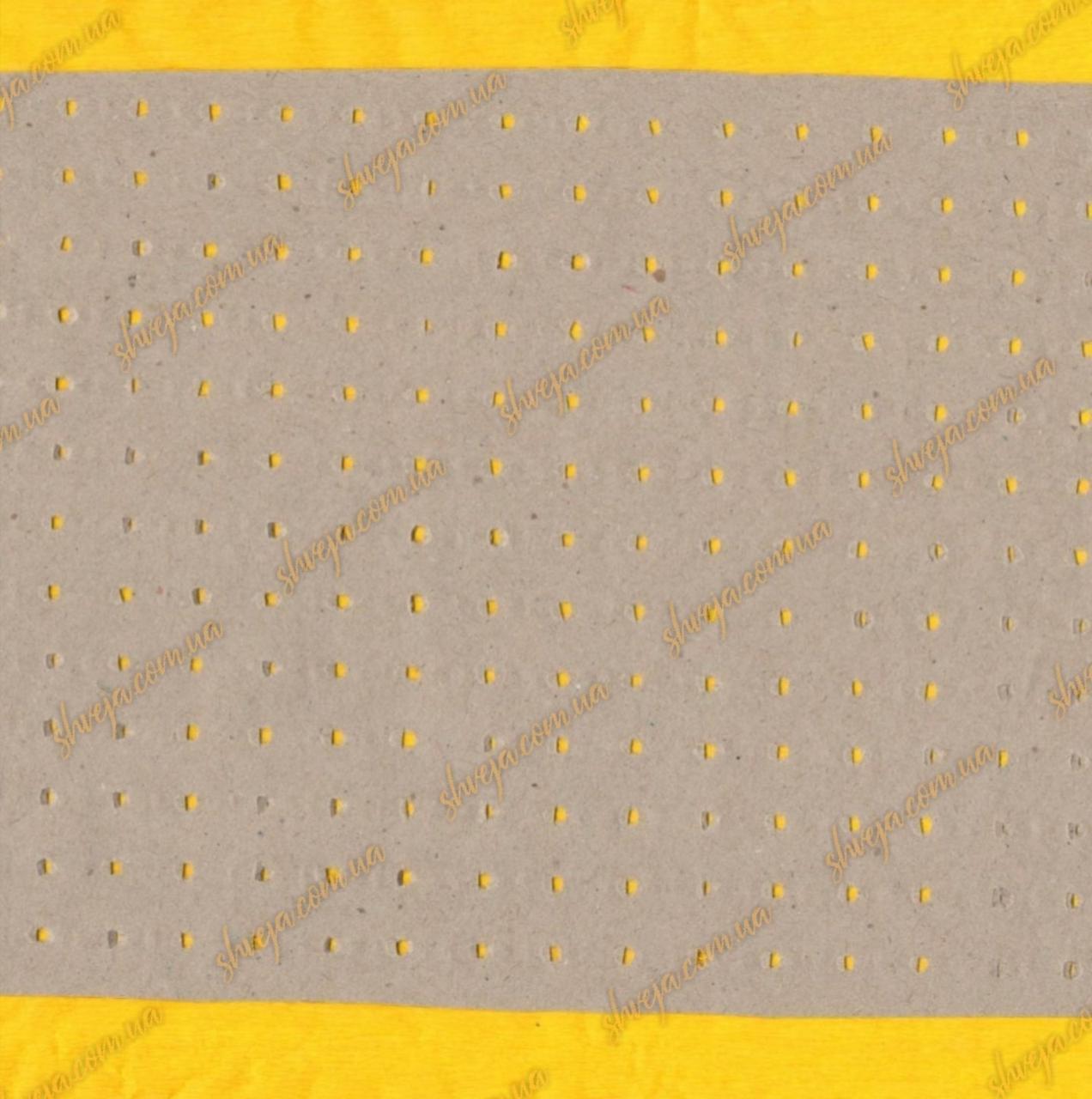 Бумага под настил перфорированная крафт 230см / 80г рулон 30кг
