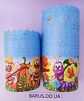 Бумажные формы для выпечки оптом 90*85 Сказочные персонажи
