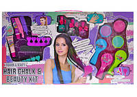 """Детская косметика J-010 """"Мелки для волос"""": пудра для волос, лаки, блеск- декоративная детская косметика"""