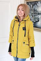 Куртка женская демисезонная   с 52 по 58 размер(ms)