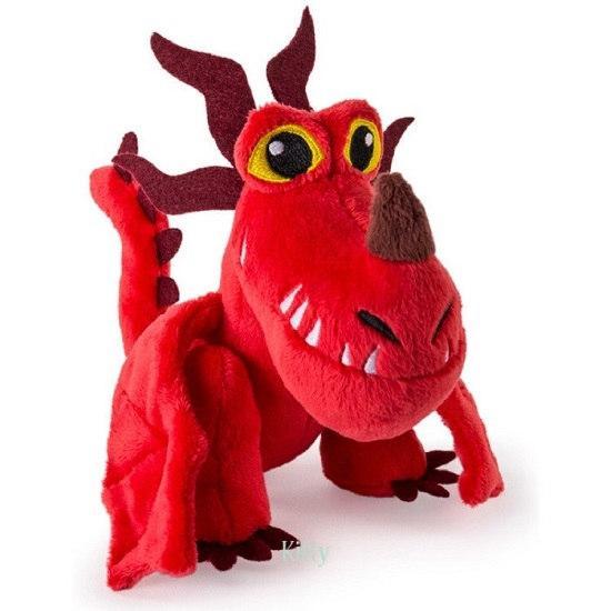 Как приручить дракона: Кривоклык мягкий дракон (20см) Spin Master