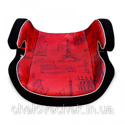 Детское автокресло Lorelli Venture black/red cities (15-36 кг)