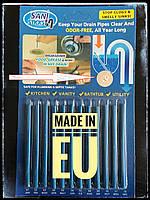 Палочки для очистки засора Sani Sticks EUROPE