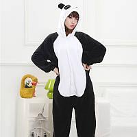 Кигуруми Чёрная Панда для взрослых
