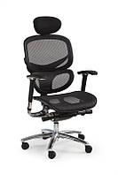 Кресло компьютерное PRESIDENT черный (Halmar)