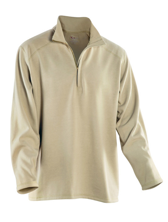 Оригинал Негорючее зимнее термобелье Drifire Long Sleeve Zip Neck Single Sided Mod/Viscose Mock Fleece