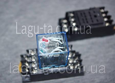 Реле промежуточное контактор MY4N-J 5A, фото 2