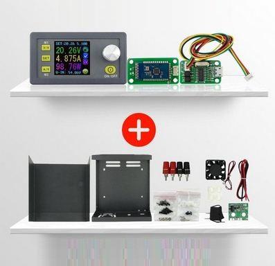 Набор для сборки ЛБП DPS5005 USB+Bluetooth, корпус C1 (понижающий DC-DC программируемый источник питания 0-50V
