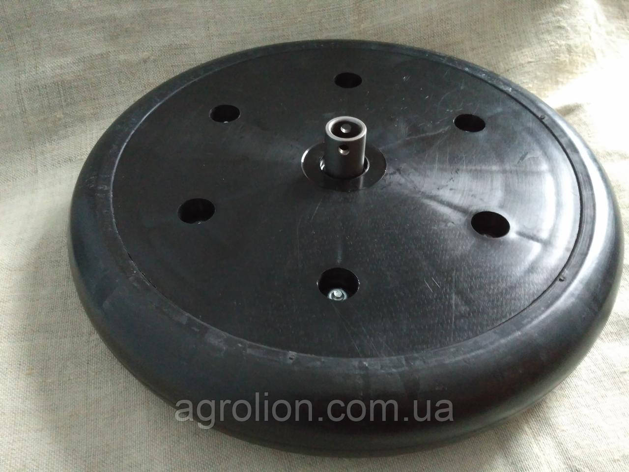 """Прикотуюче колесо в зборі ( диск поліамід) 2"""" x 13"""" F06120405 Gaspardo."""