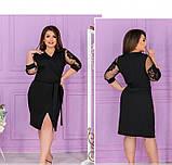 Платье Minova 1240Б-чёрный, фото 2
