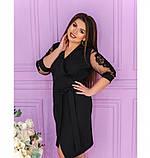 Платье Minova 1240Б-чёрный, фото 3