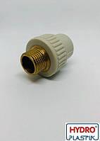 Муфта ппр 20х3/4 НР Hydro Plastik