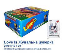 Жевательная конфета Love Is 20 шт (Saadet)