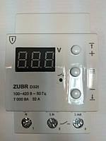Реле контроля напряжения с термозащитой ZUBR D32t