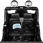 Детский электромобиль Jeep Wrangler M 4176EBLR-2 черный, фото 6