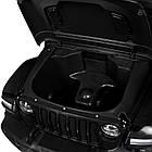 Детский электромобиль Jeep Wrangler M 4176EBLR-2 черный, фото 5