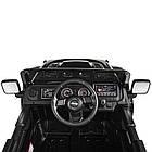 Детский электромобиль Jeep Wrangler M 4176EBLR-2 черный, фото 8