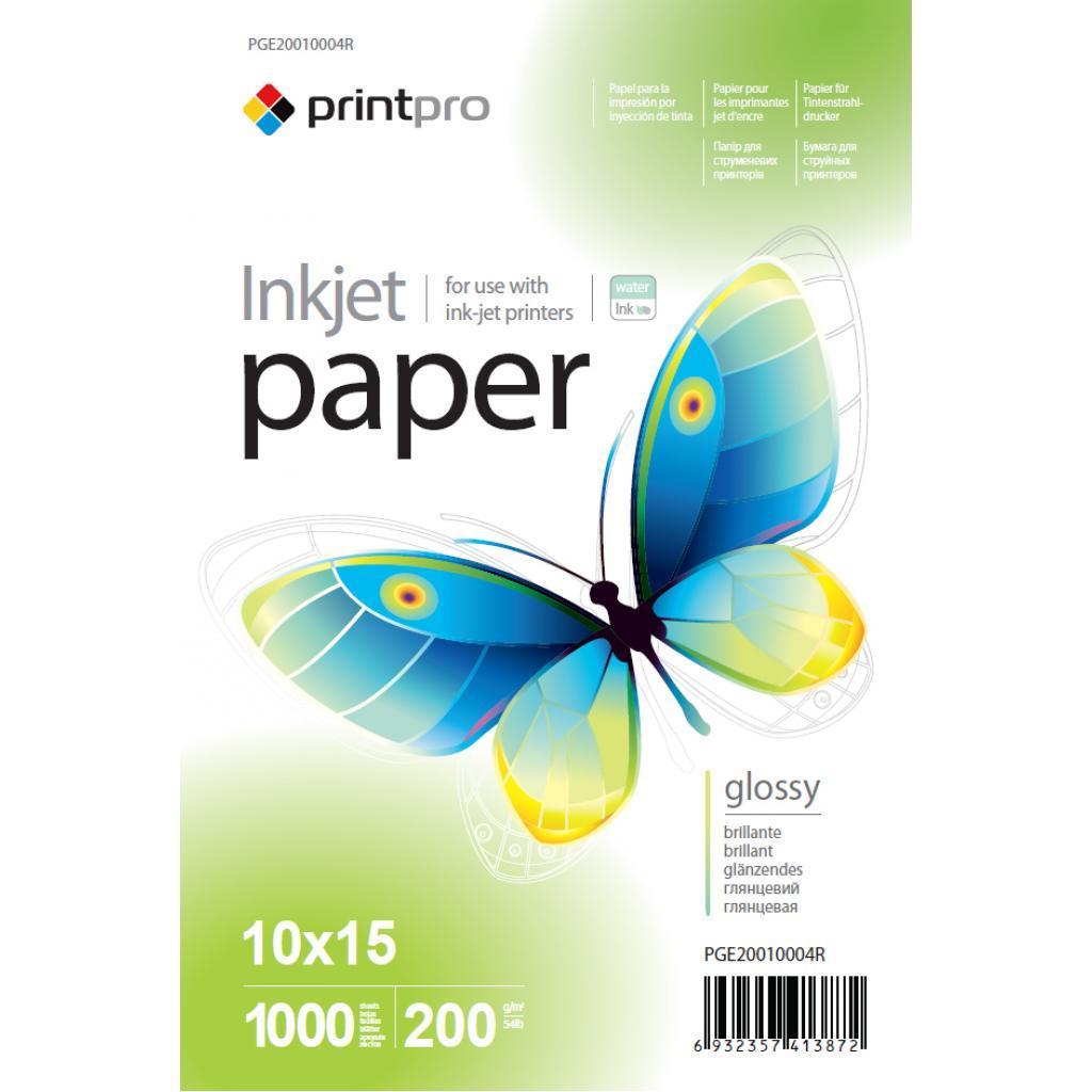 Фотопапір PrintPro PG200-1000 (PGE20010004R)