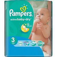 Подгузник Pampers Active Baby Midi (4-9 кг), 22шт (4015600001674)