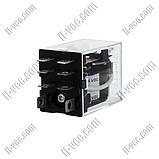 Реле OMRON LY2 24VDC, 10A/110VAC, 10A/24VDC, фото 2