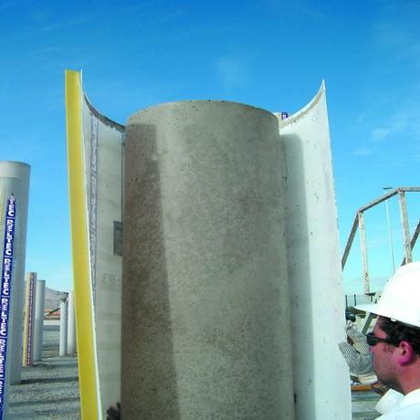 Опалубка картонная для круглых колонн