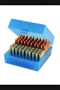 Berry's 100rd 17 / Rem .223 / 222 / 5.56 Plastic Ammo Rifle Box 005 Прозорий