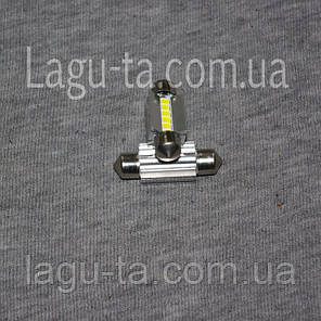 Светодиодная лампа 12 в. 36 мм., фото 2