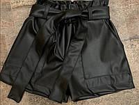 Кожанные шорты не девочек подростков 128 /164 см