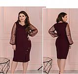 Платье Minova 1102-1-марсала, фото 2