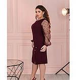 Платье Minova 1102-1-марсала, фото 3