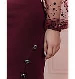 Платье Minova 1102-1-марсала, фото 4