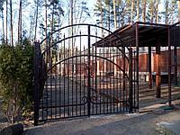 Забор и ворота сварные