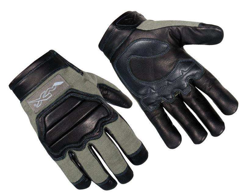 Wiley X Paladin Intermediate Cold Weather Flame & Cut Combat Gloves Large, Foliage Green