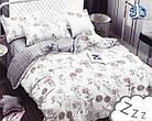 Комплект постельного белья Микроволокно HXDD-803 M&M 6833 Белый, Кремовый, фото 2