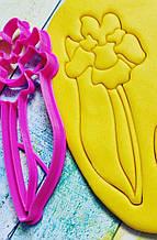 Формочка-вырубка для пряника Цветок №23