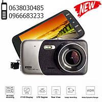 Автомобильный видеорегистратор UKC CSZ-Z14A WDR Full HD 1080P 2 камеры