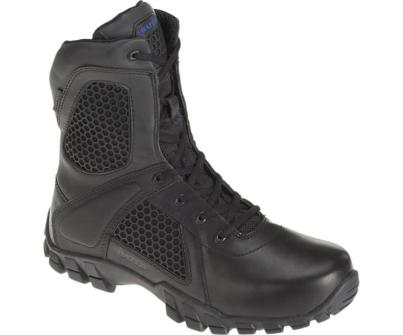 Оригинал Военные тактические ботинки Bates STRIKE 8 SIDE ZIP E07008 US 10R