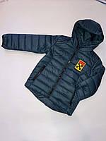 Куртка демисезонная на мальчиков 116-140 см