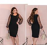 Платье Minova 1102-1-черный, фото 3