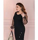 Платье Minova 1102-1-черный, фото 4
