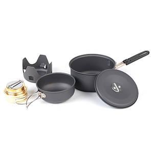 NDuR Mini Cookware Kit w/Alcohol Burner 22400