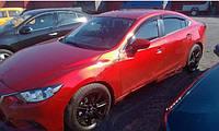 Ветровики  4 двери Mazda 6 2013+