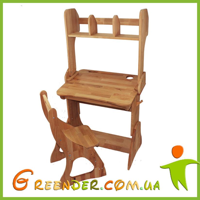 Комплект Парта, стул, надстройка