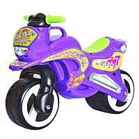 Велобег Киндервей МотоБайк (11-006) фиолетовый