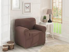 Чехол на кресло Коричневый Home Collection Karna Турция 50155