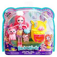 Игровой набор кукла Enchantimals Друзья с пекарни Поросенок  FJJ28, фото 6