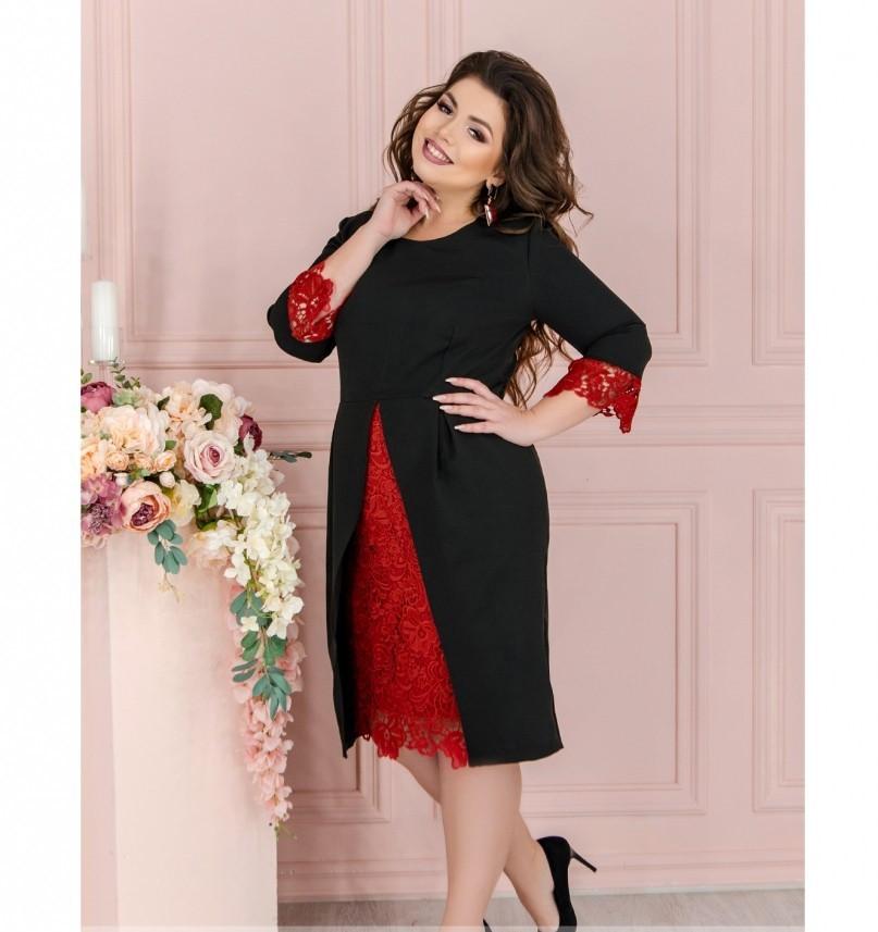 Платье Minova 1211Б-черный