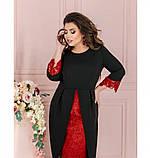 Платье Minova 1211Б-черный, фото 2