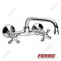 Смеситель  Ferro Retro XR3 настенный для умывальника