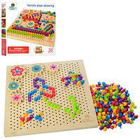 Игрушка детская развивающая мозаика Бабочка